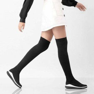 FitFlop Limited Edition Over The Knee Sock boots